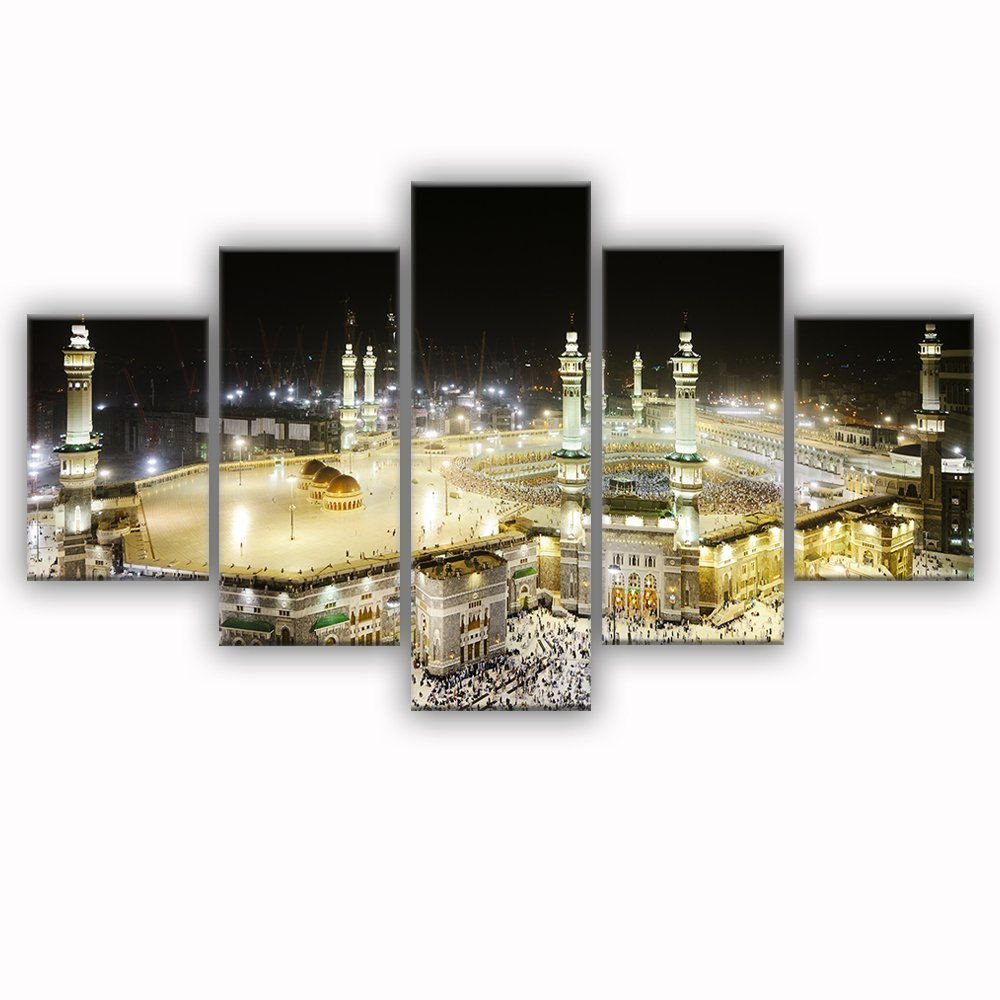 Mosque Modern Islamic Muslim wall art canvas prints art home